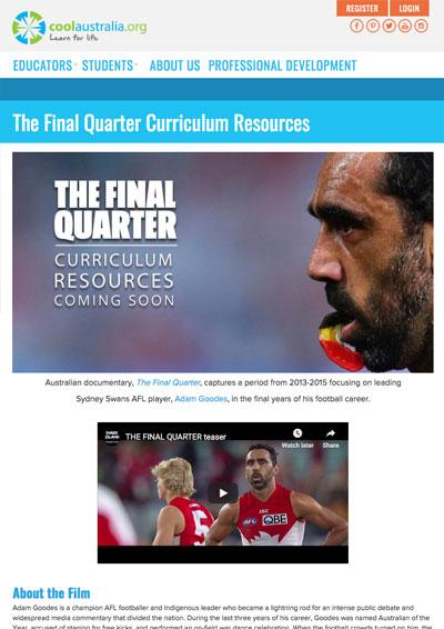 Cool Australia website