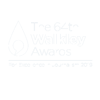 The 64th Walkley Awards – For Excellence in Journalism 2019 – FINALIST